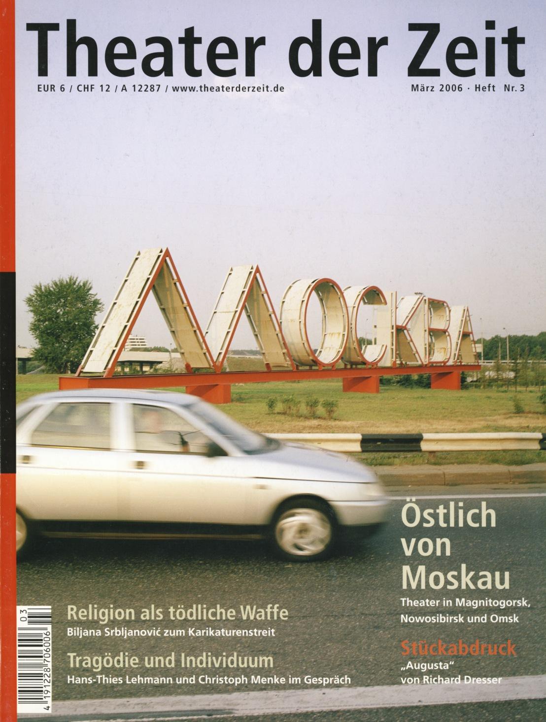 Theater der Zeit 03/2006