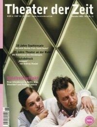 Theater der Zeit 11/2006