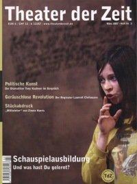 Theater der Zeit 03/2007