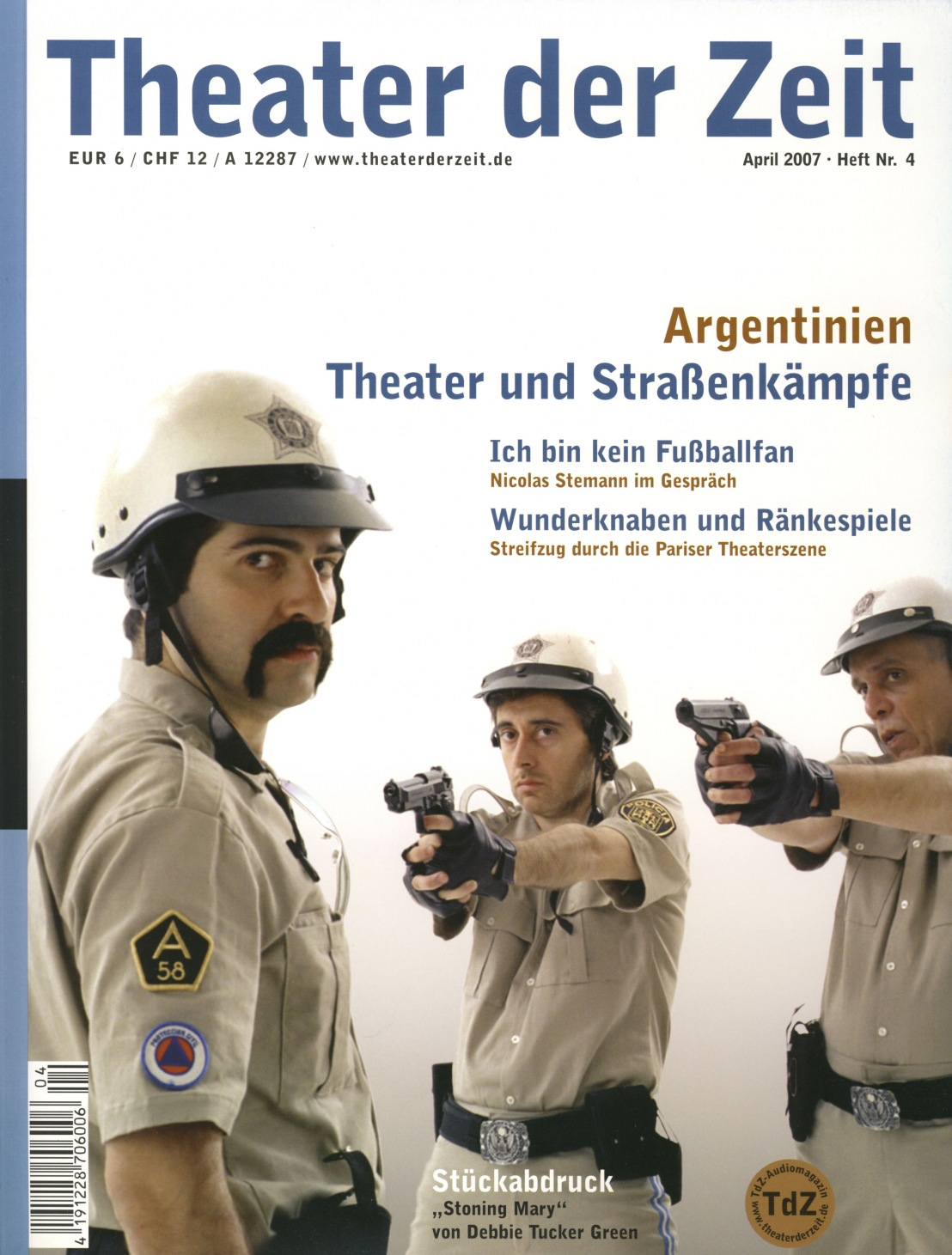 Theater der Zeit 04/2007