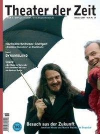 Theater der Zeit 10/2007