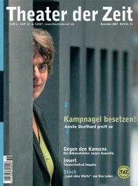 Theater der Zeit 11/2007