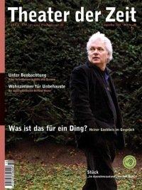 Theater der Zeit 12/2007