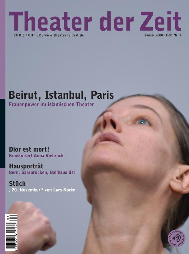 Theater der Zeit 01/2008