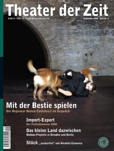 Theater der Zeit 09/2008