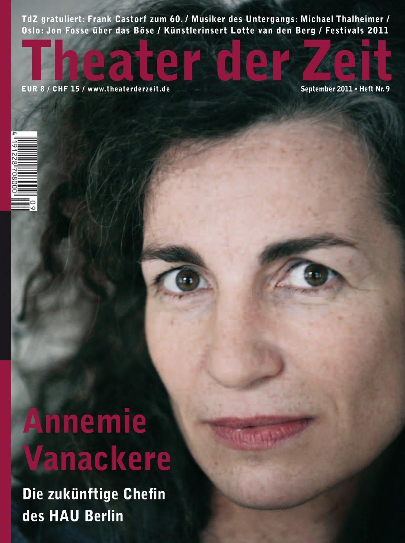 Theater der Zeit 9/2011