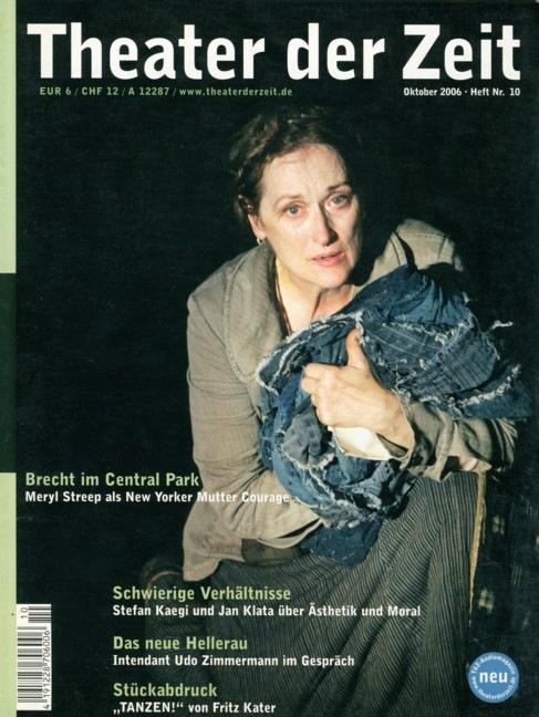 Theater der Zeit 10/2006