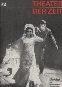 Theater der Zeit 5/1972