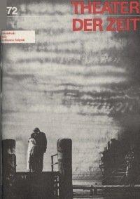 Theater der Zeit 12/1972