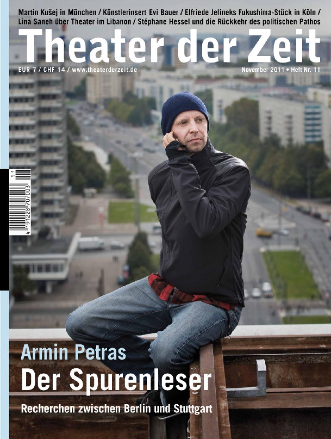 Theater der Zeit 11/2011