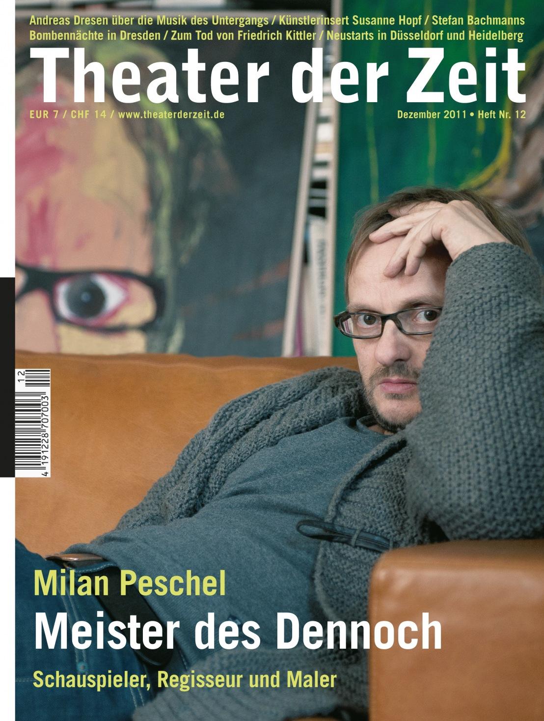 Theater der Zeit 12/2011