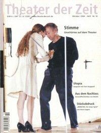 Theater der Zeit 10/2004