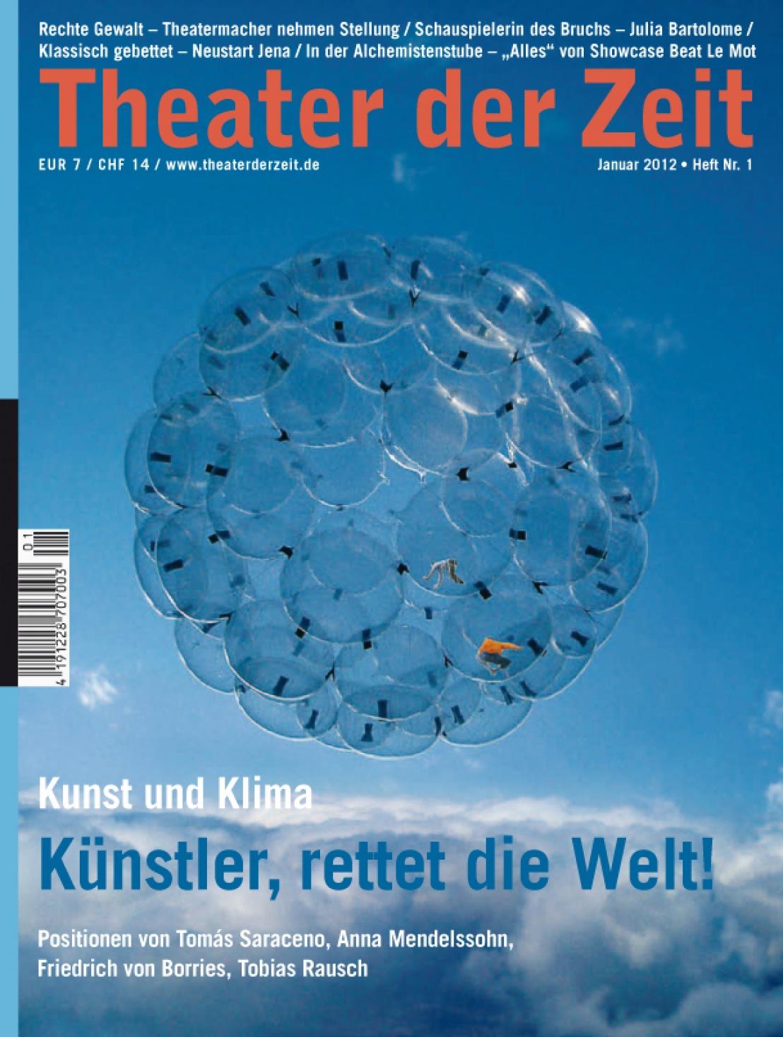 Theater der Zeit 01/2012