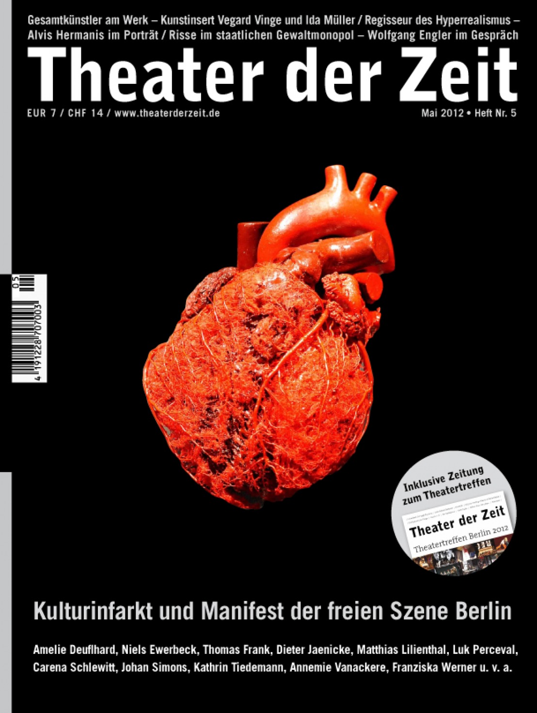 Theater der Zeit 5/2012