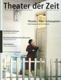 Theater der Zeit 05/2004
