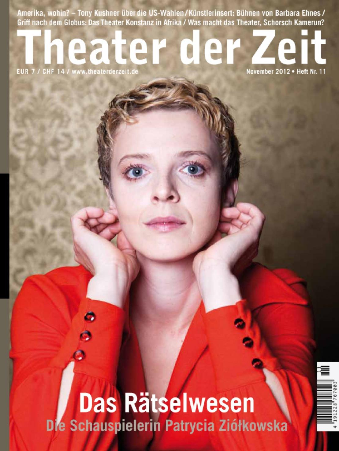 Theater der Zeit 11/2012
