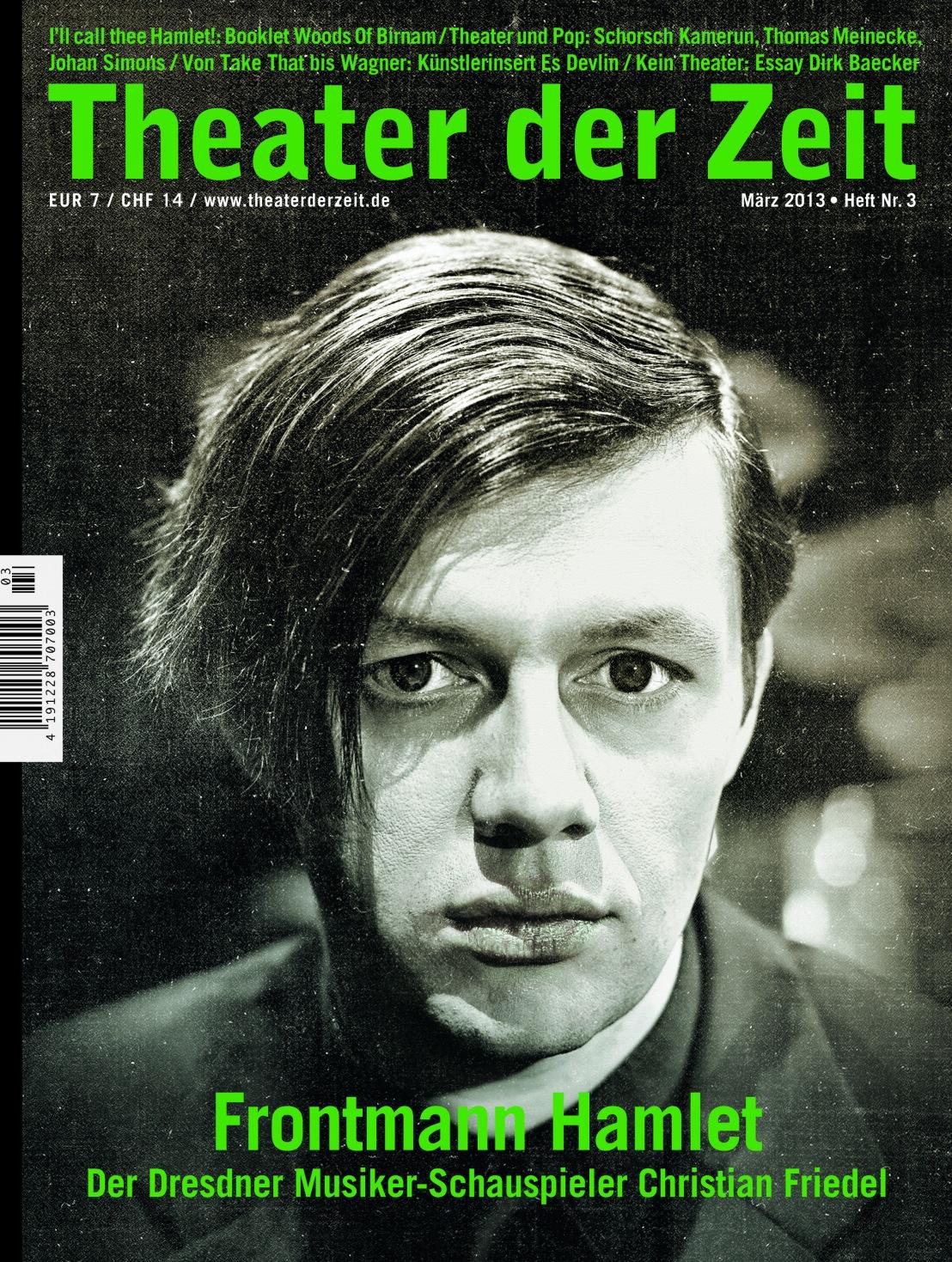 Theater der Zeit 3/2013