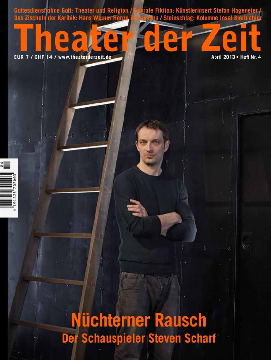 Theater der Zeit 4/2013