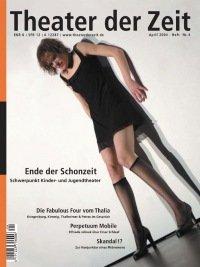 Theater der Zeit 04/2004