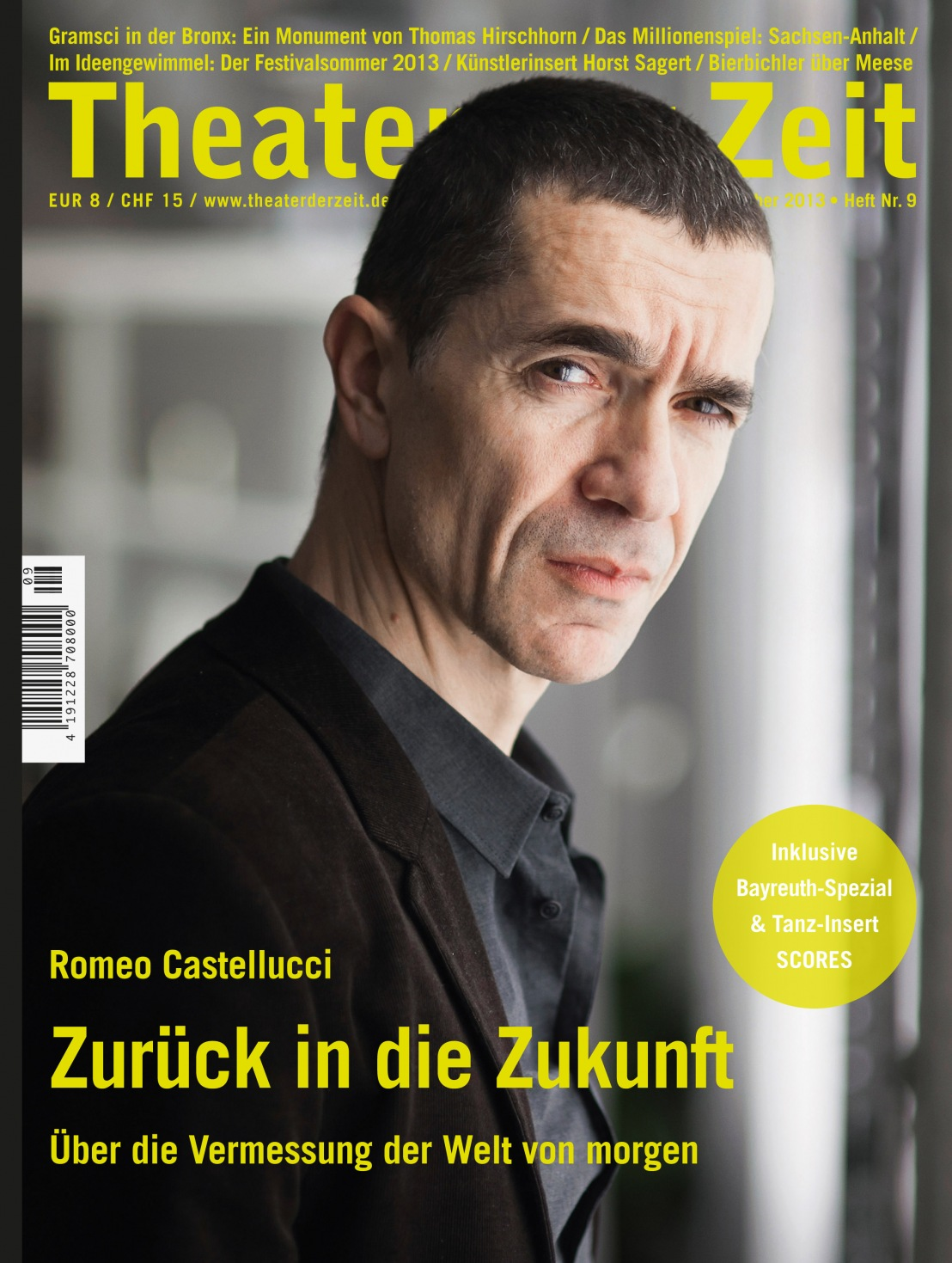 Theater der Zeit 9/2013