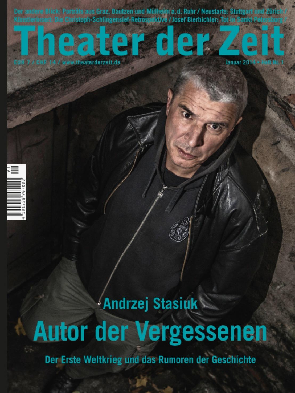 Theater der Zeit 1/2014