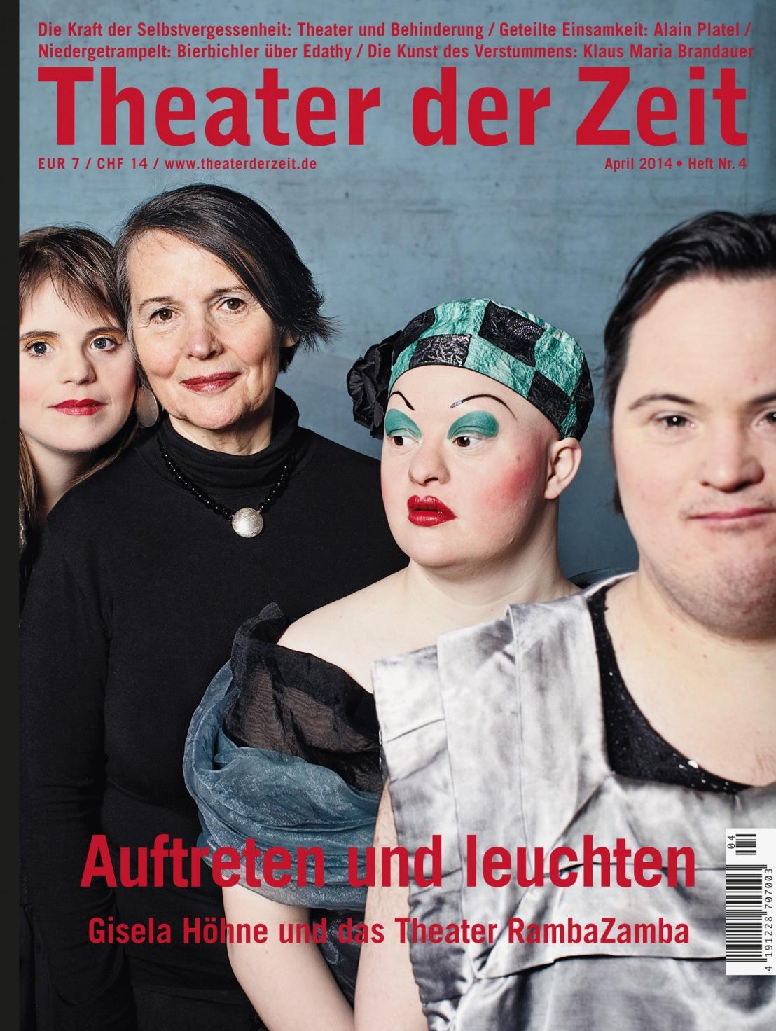 Theater der Zeit 4/2014