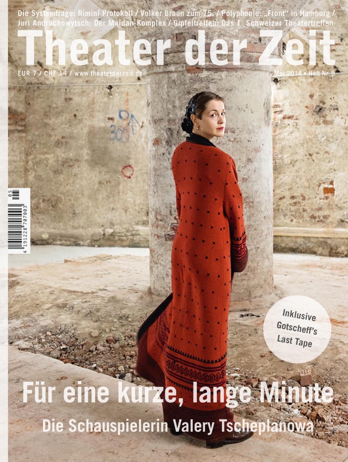 Theater der Zeit 5/2014