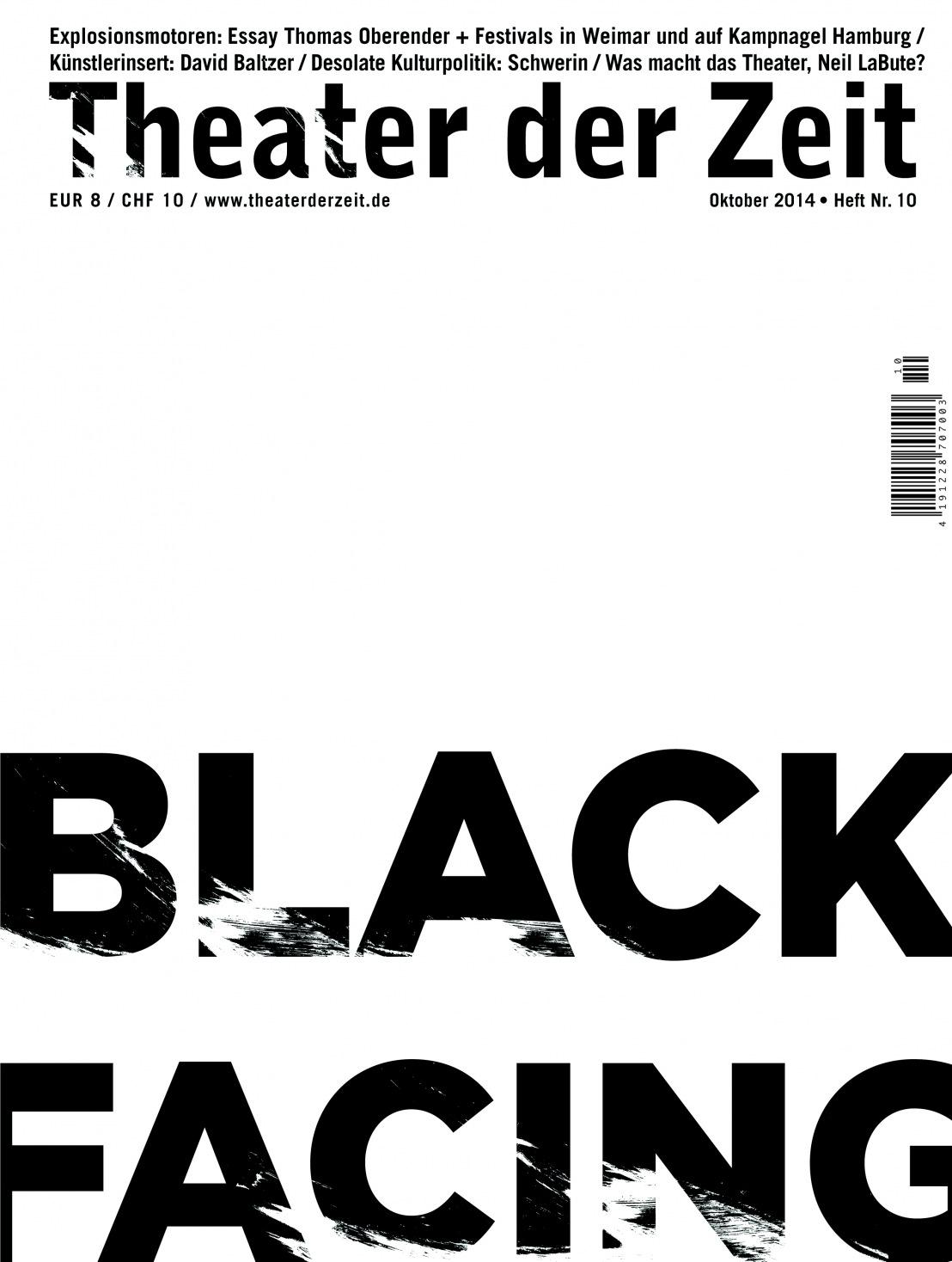 Theater der Zeit 10/2014
