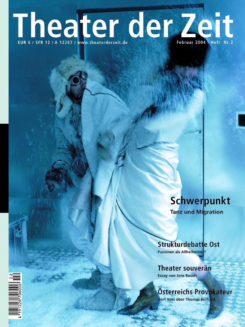 Theater der Zeit 02/2004