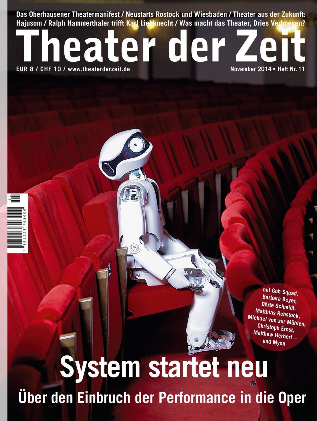 Theater der Zeit 11/2014