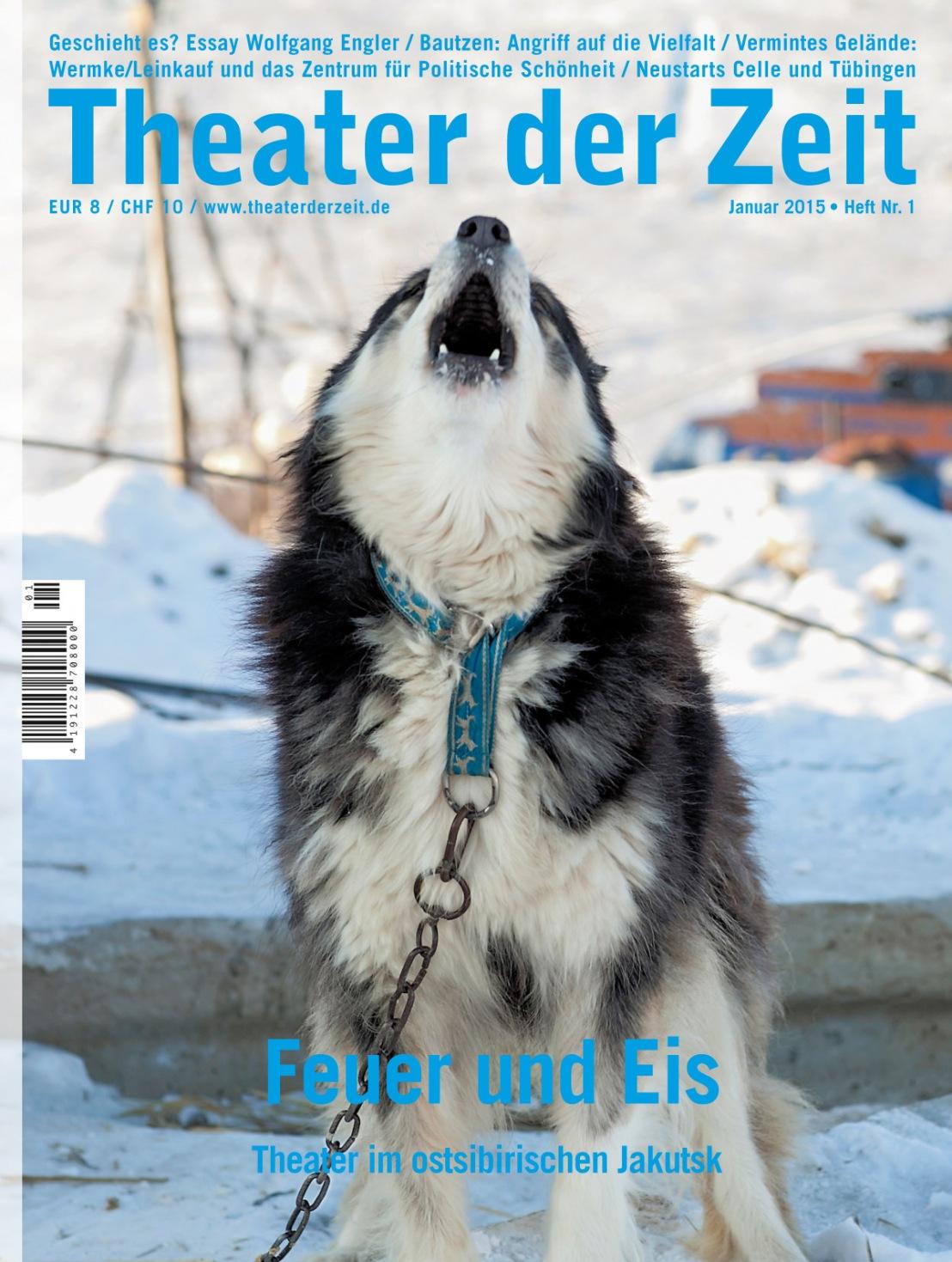 Theater der Zeit 1/2015