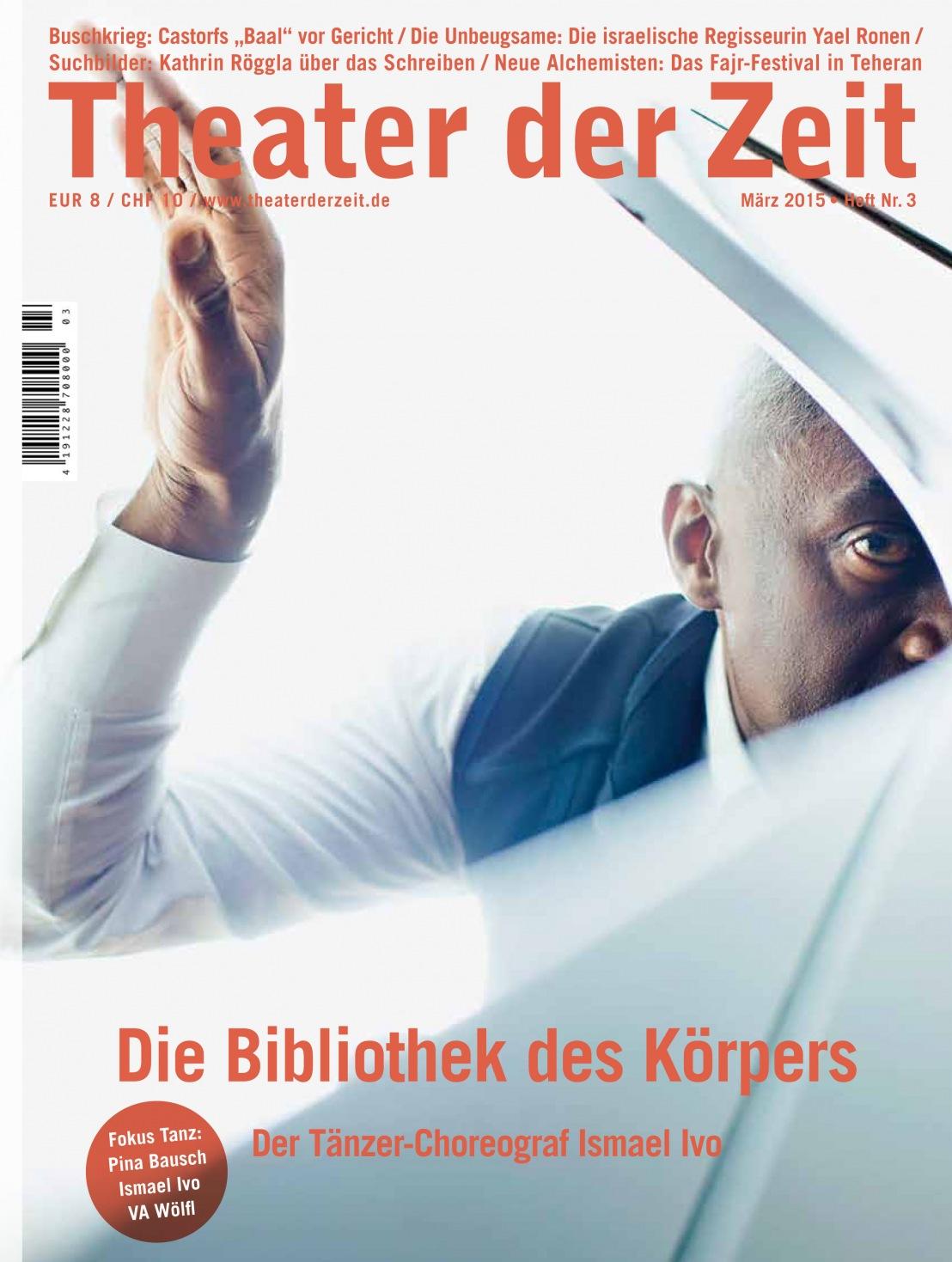 Theater der Zeit 3/2015