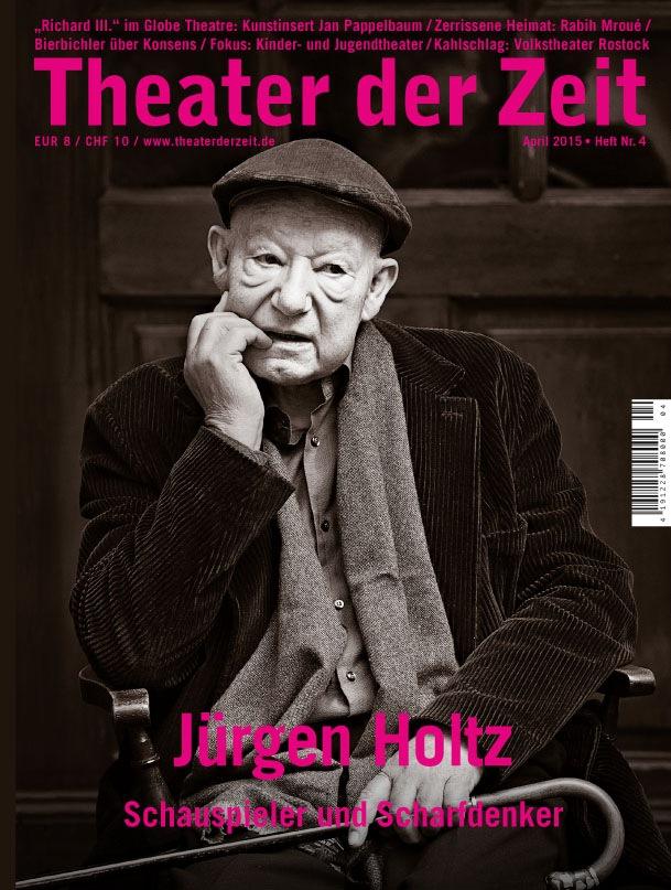 Theater der Zeit 4/2015