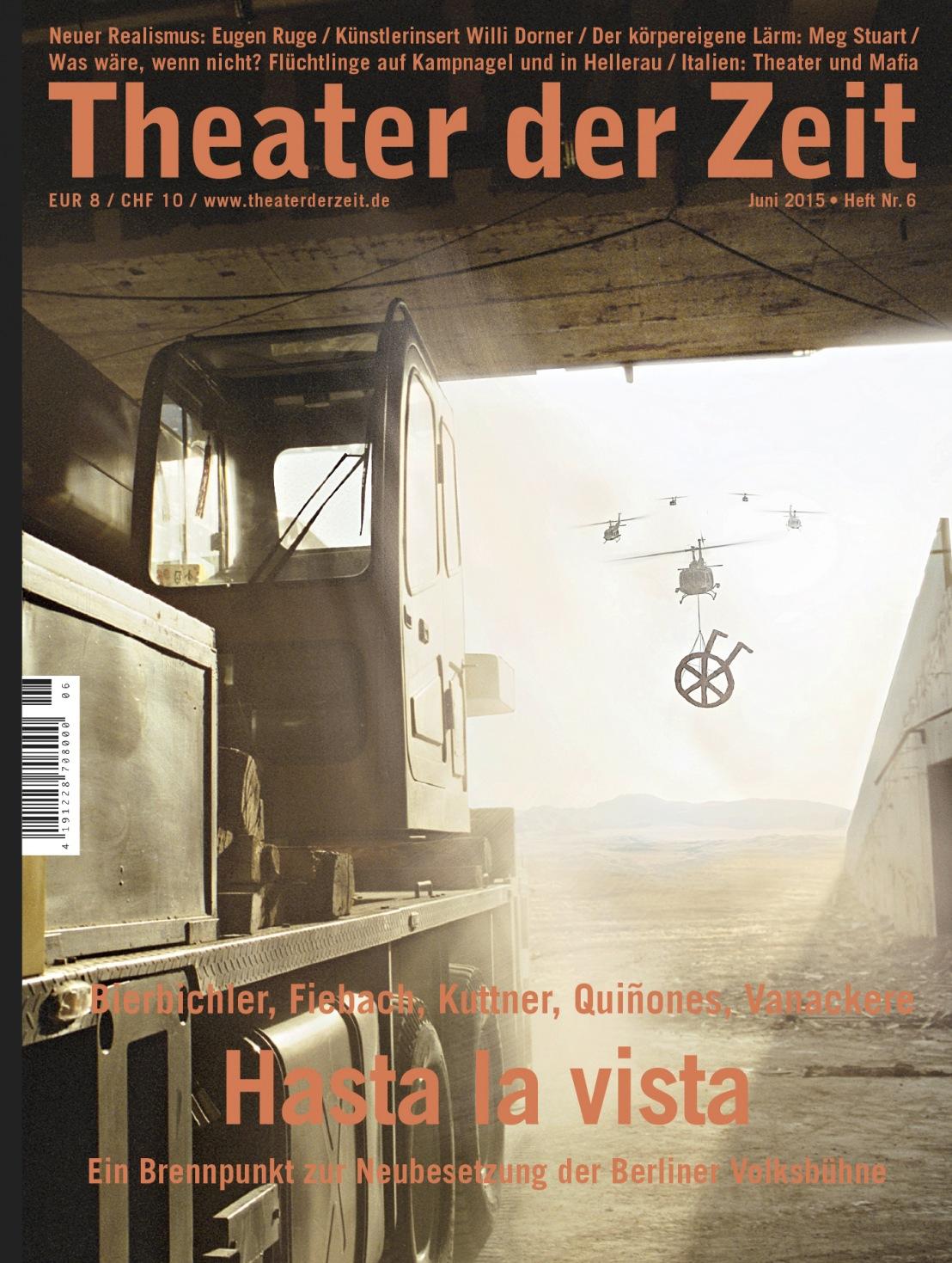 Theater der Zeit 6/2015