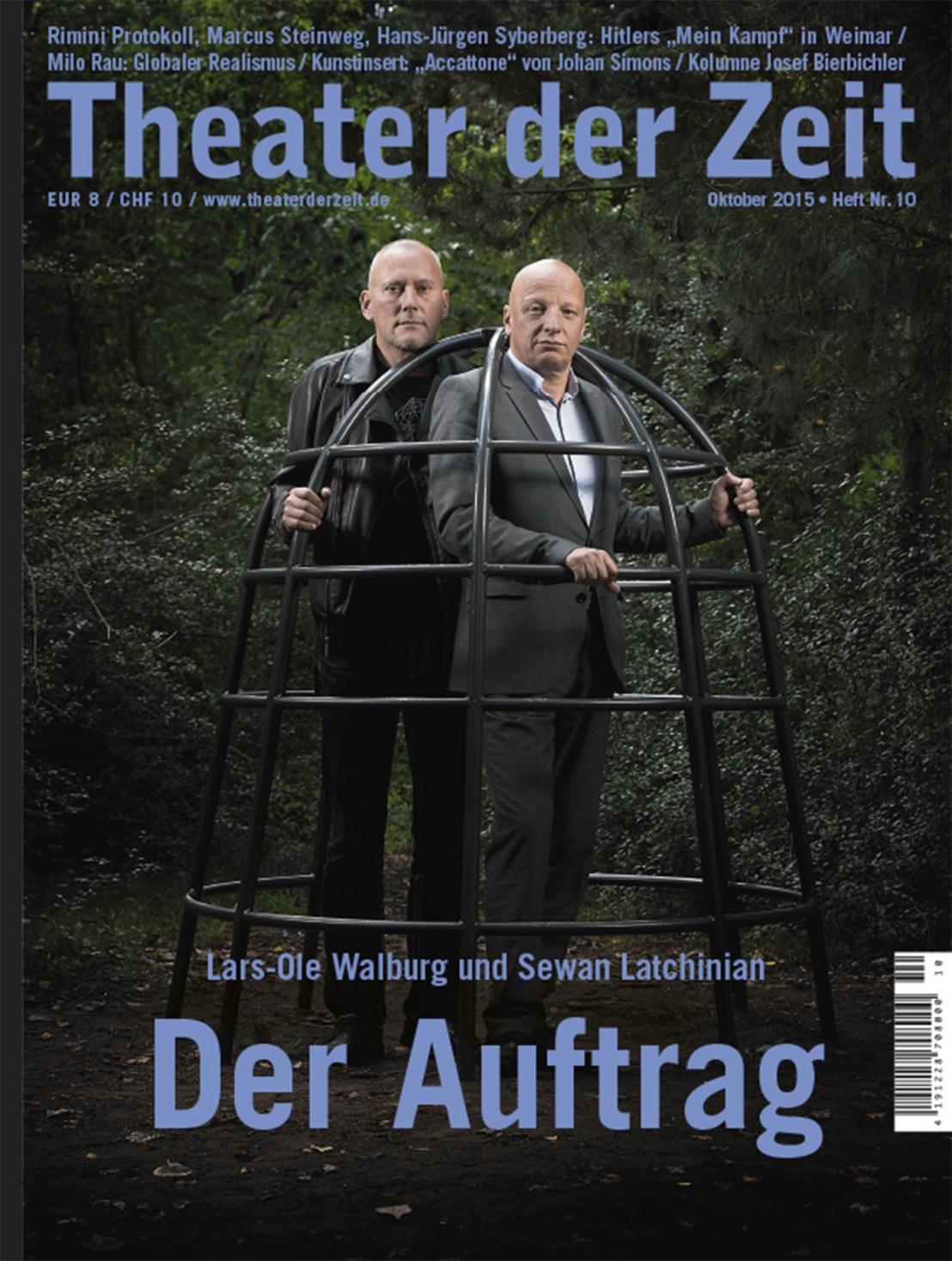 Theater der Zeit 10/2015