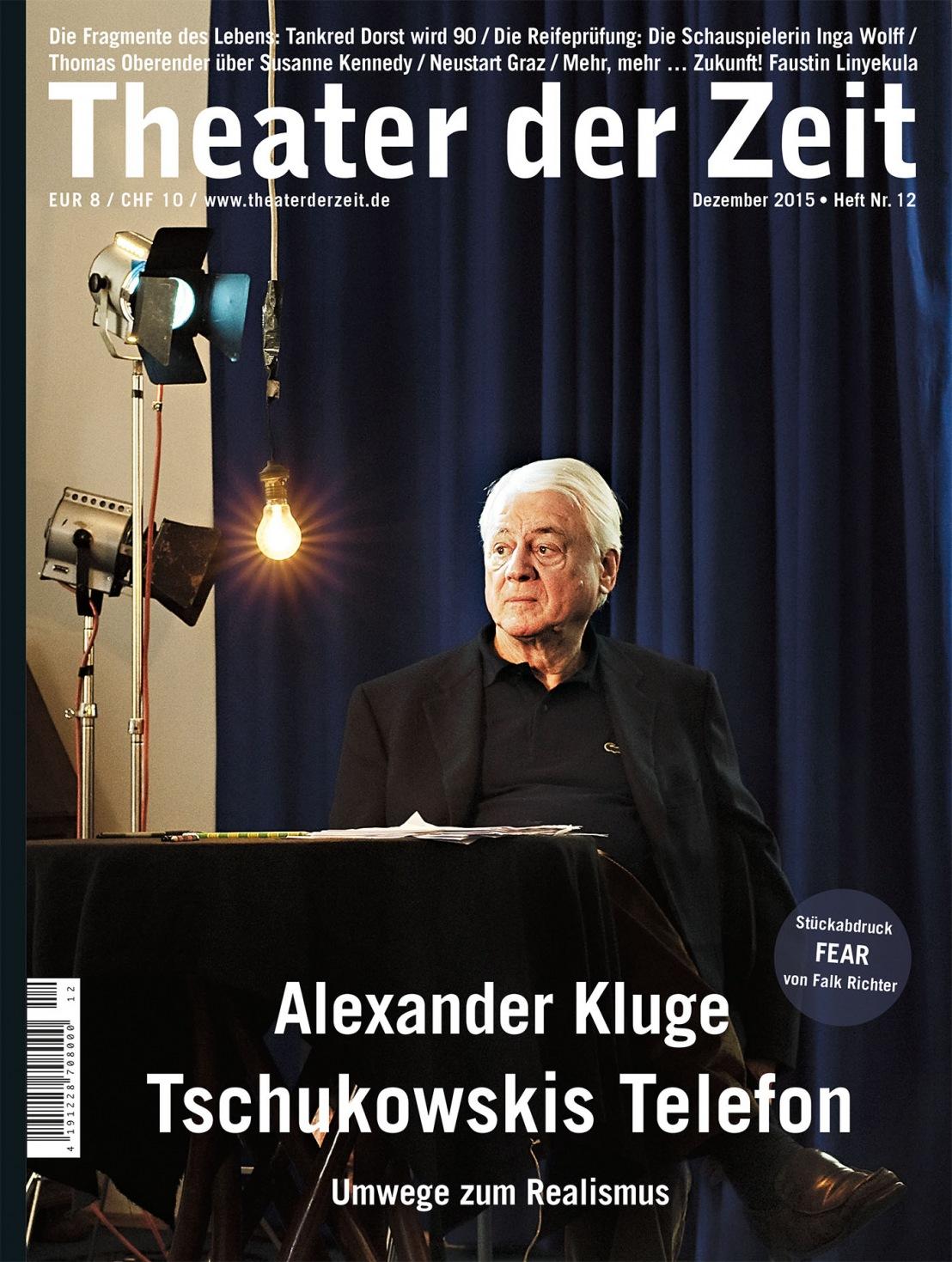 Theater der Zeit 12/2015