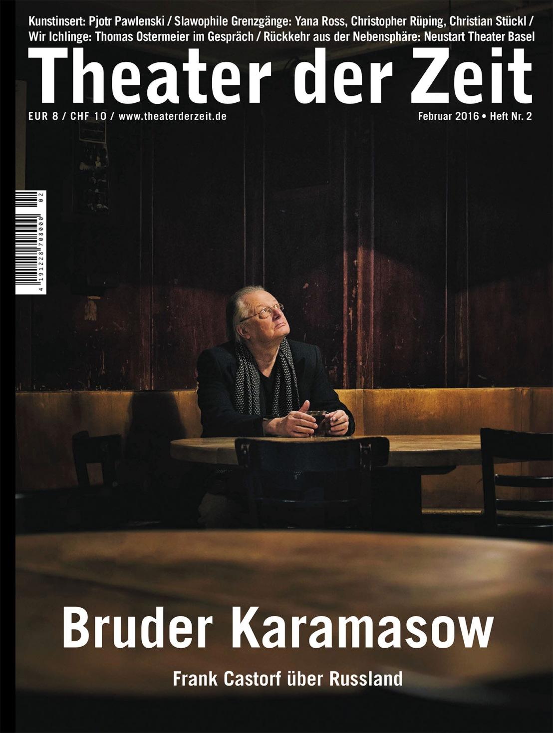 Theater der Zeit 2/2016