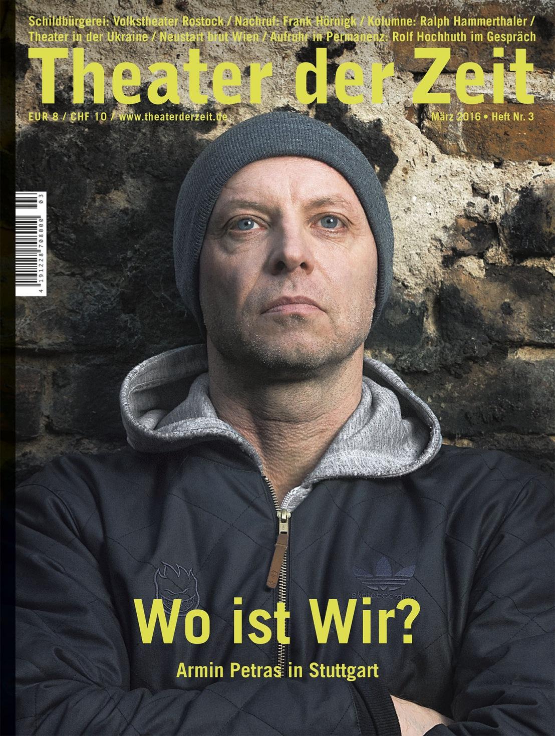 Theater der Zeit 3/2016