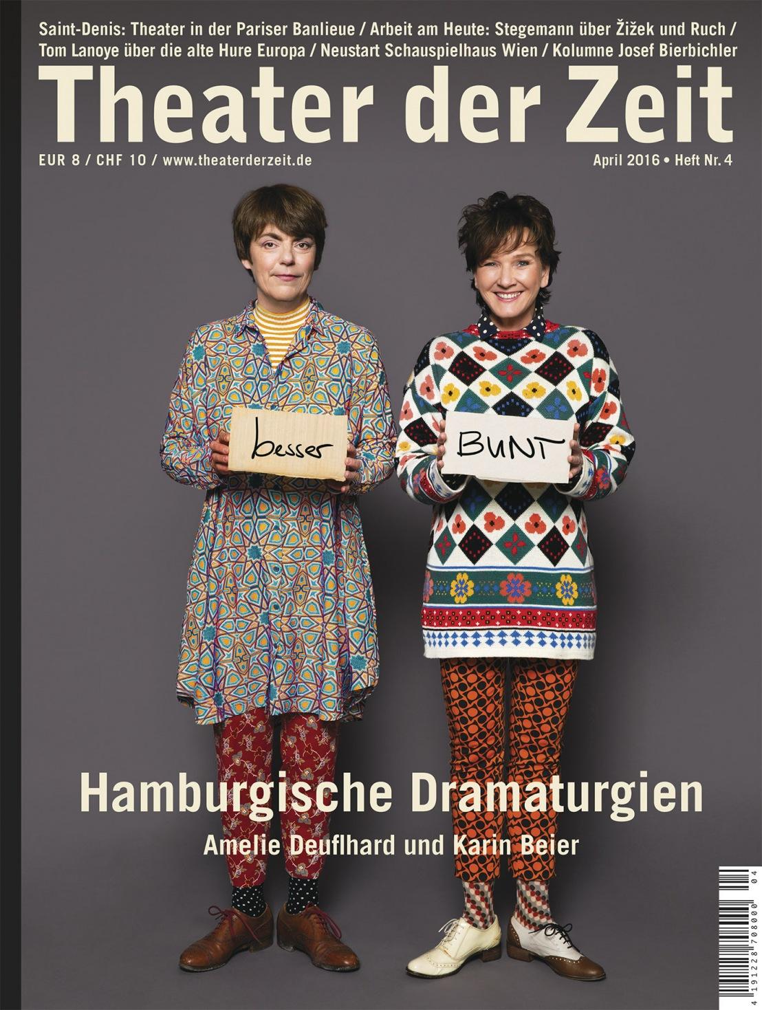 Theater der Zeit 4/2016