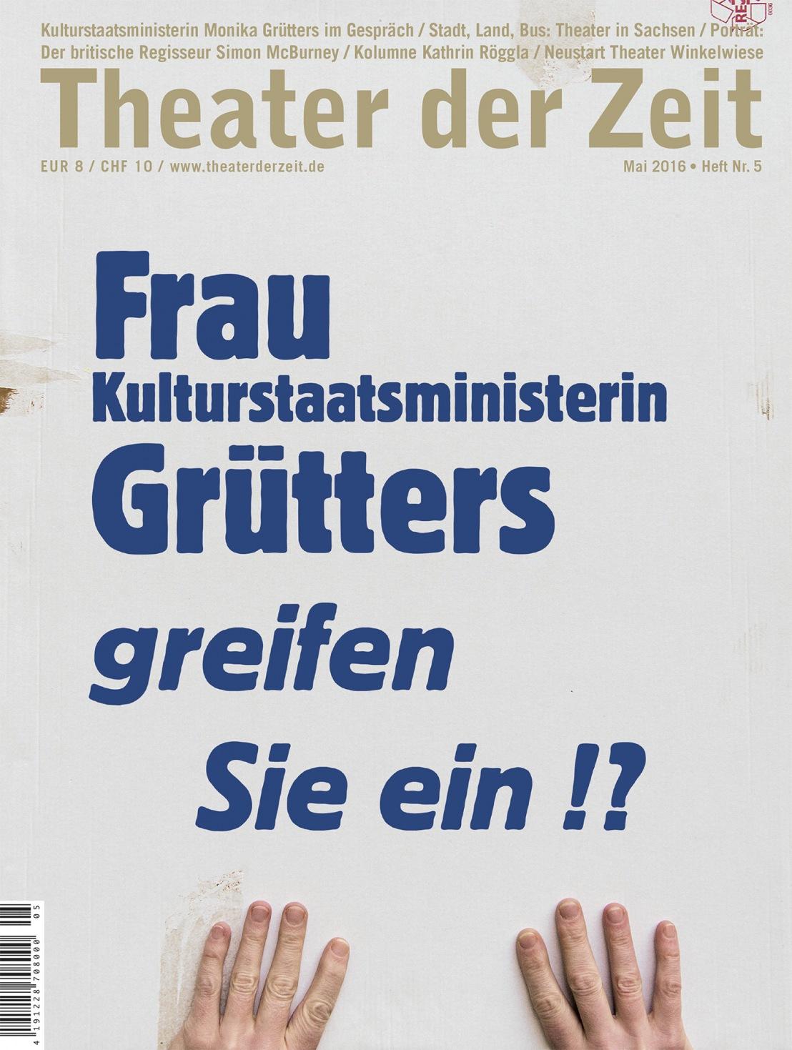 Theater der Zeit 5/2016