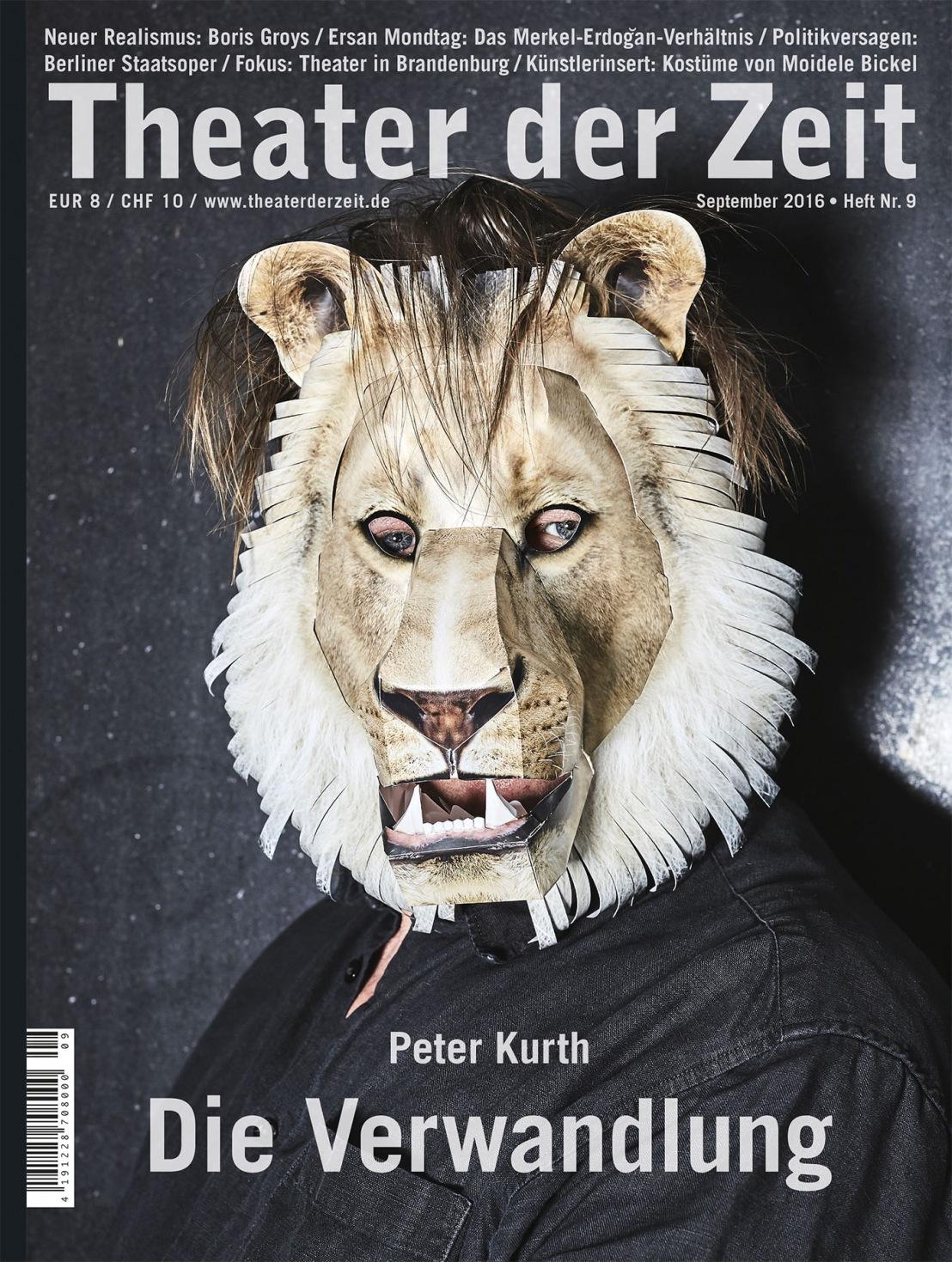Theater der Zeit 9/2016