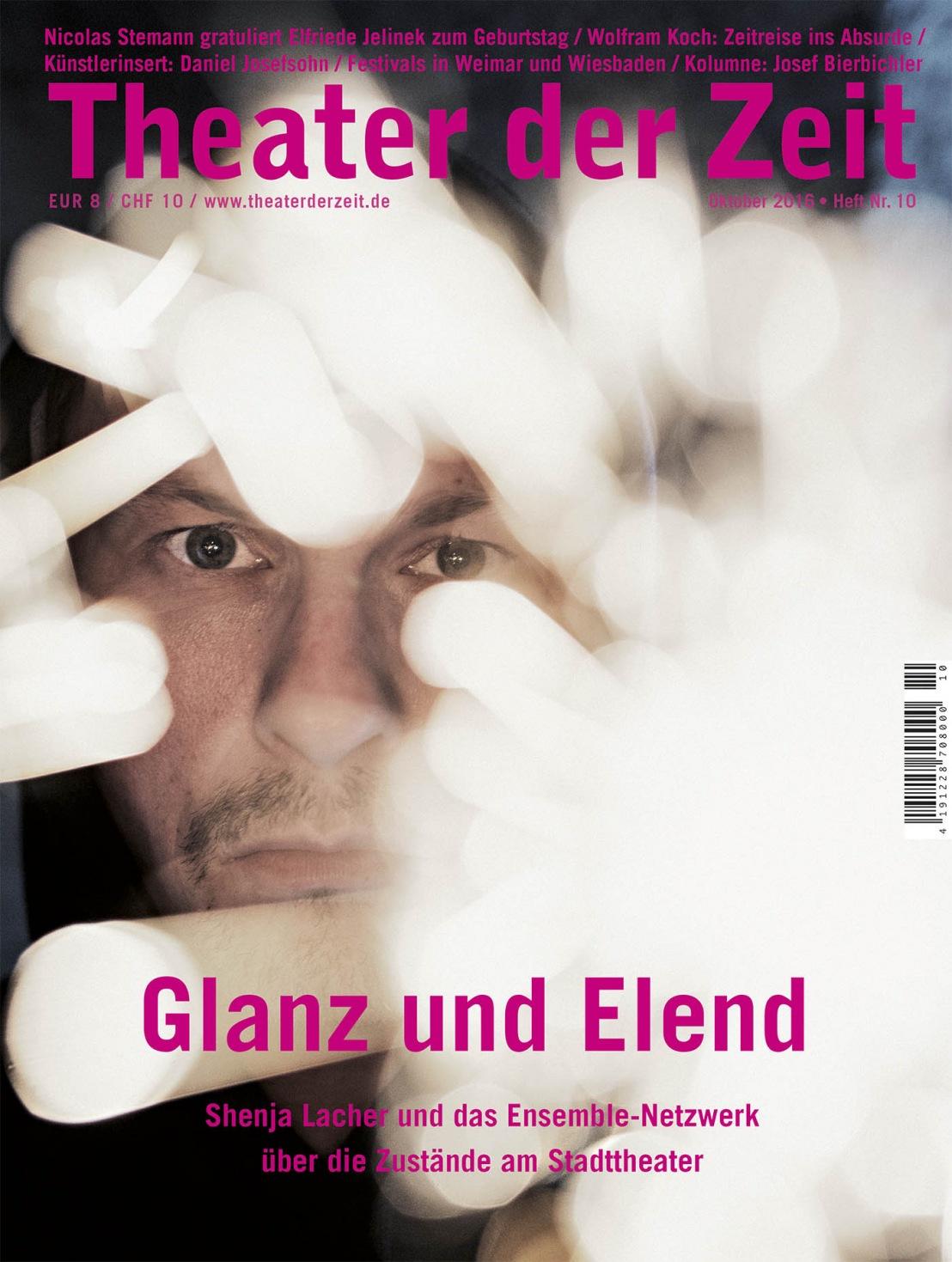 Theater der Zeit 10/2016