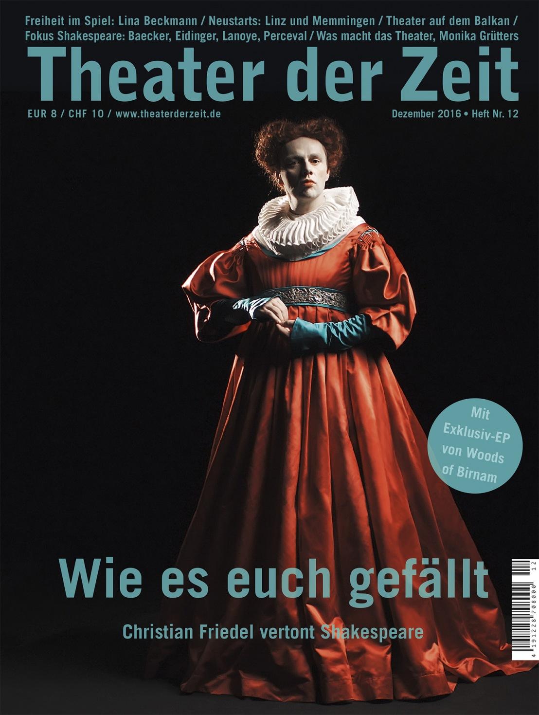 Theater der Zeit 12/2016