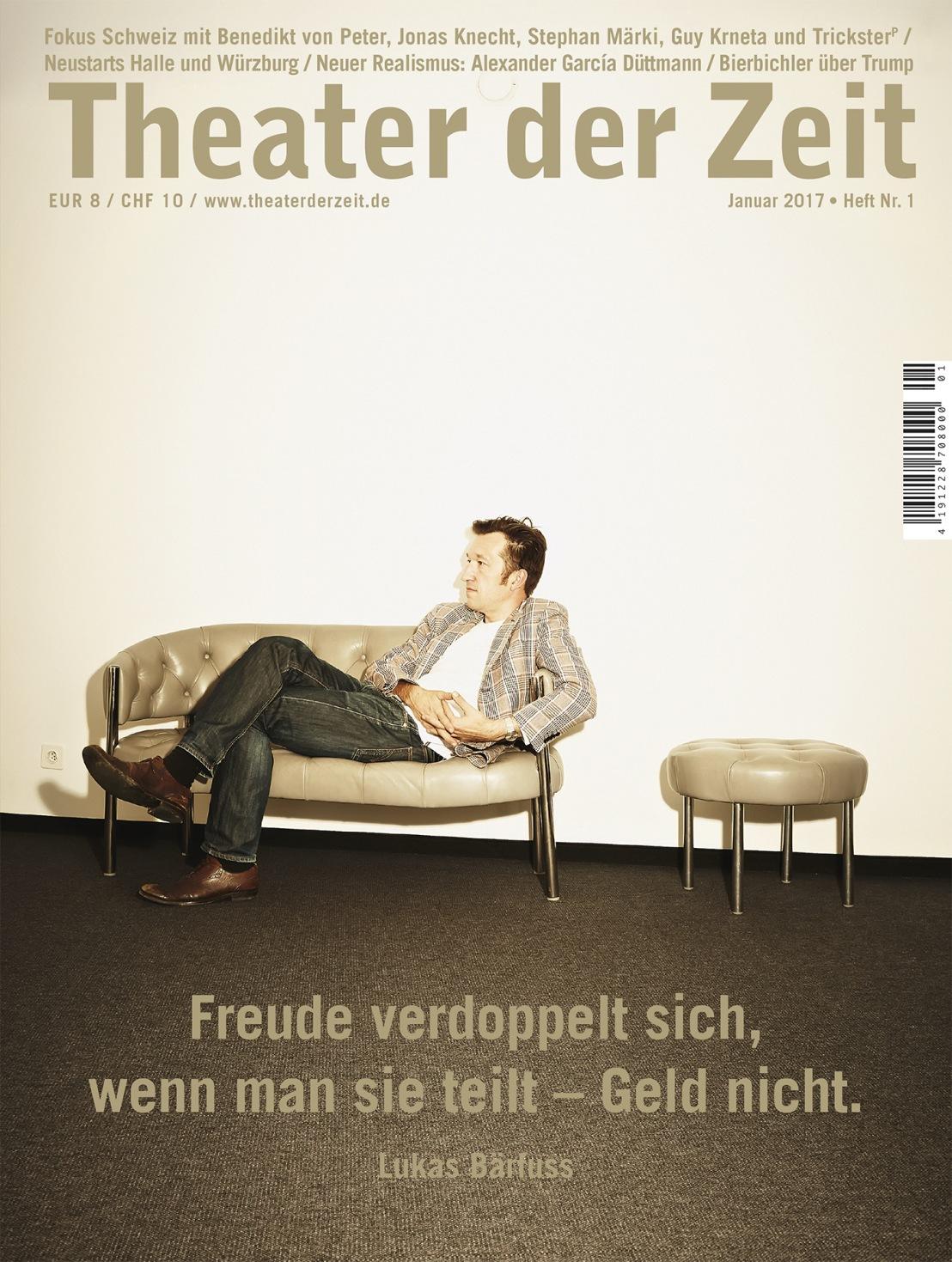 Theater der Zeit 1/2017