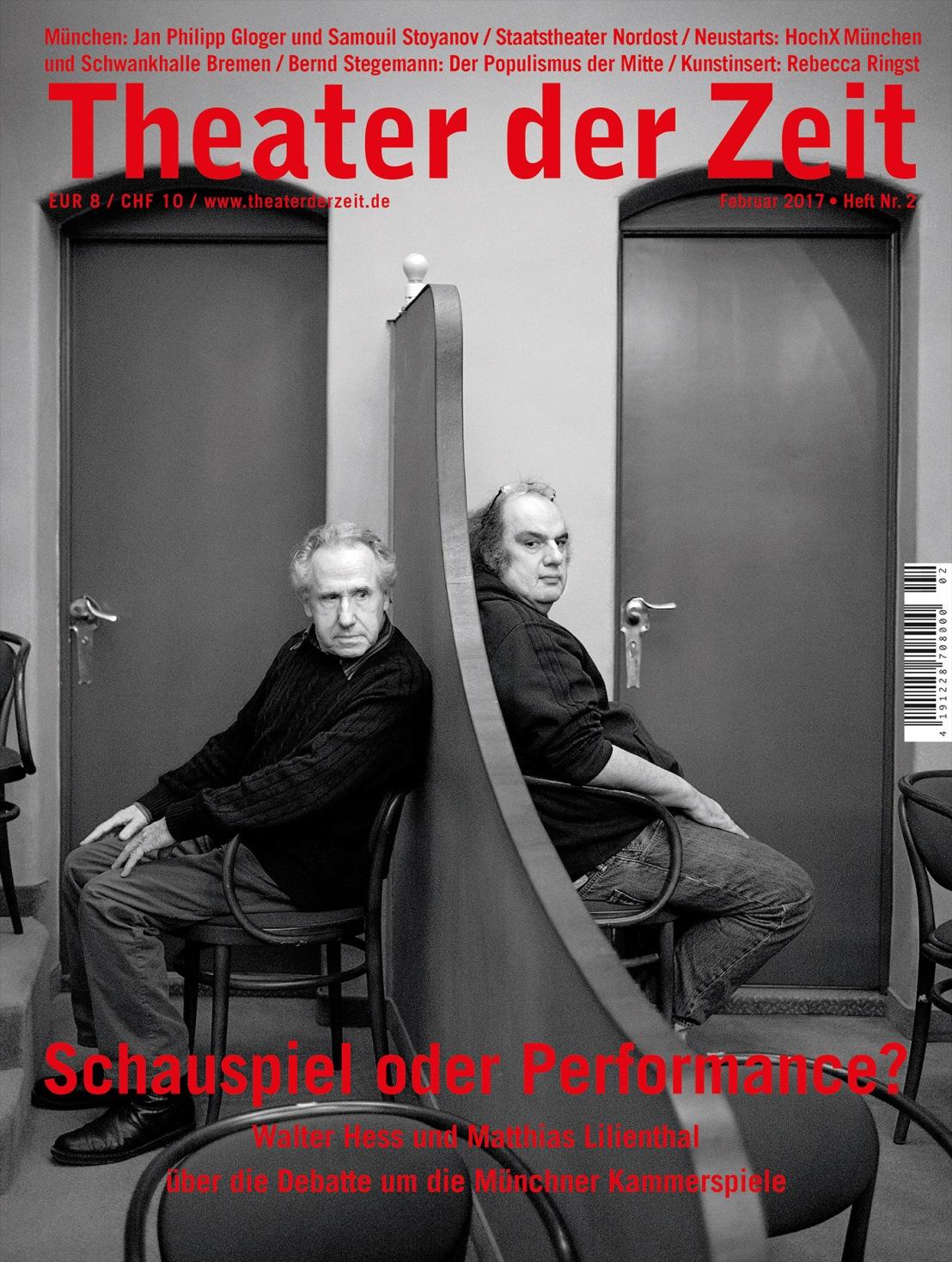 Theater der Zeit 2/2017
