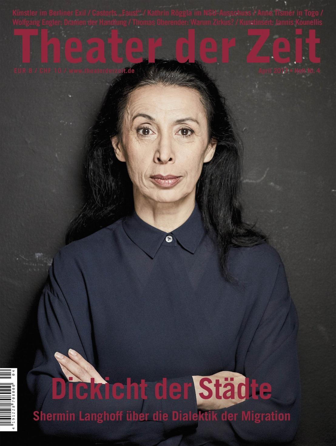 Theater der Zeit 4/2017