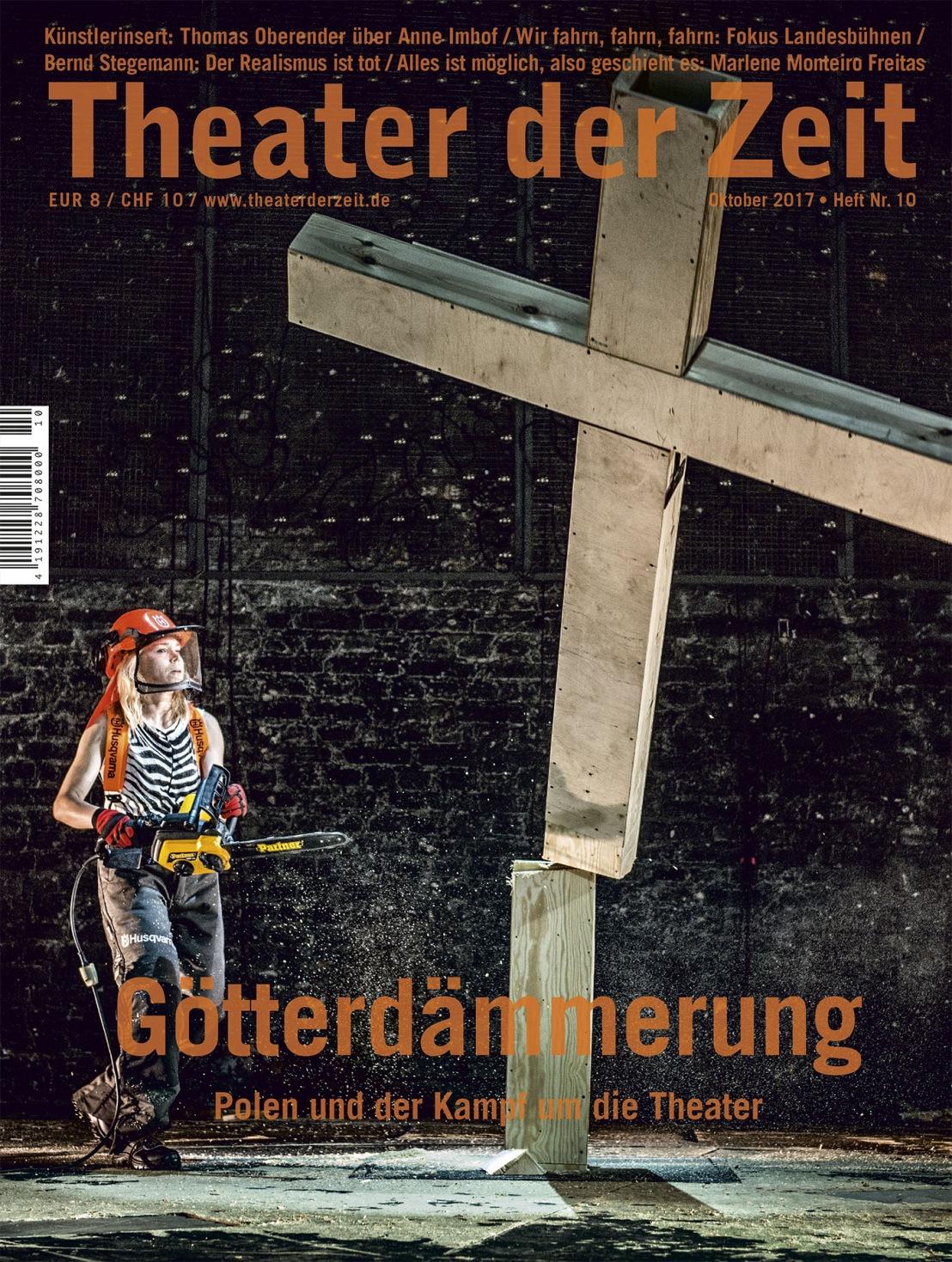 Theater der Zeit 10/2017