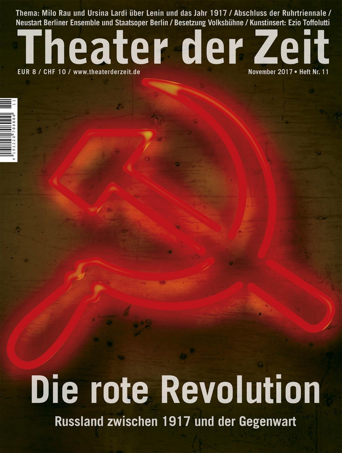Theater der Zeit 11/2017