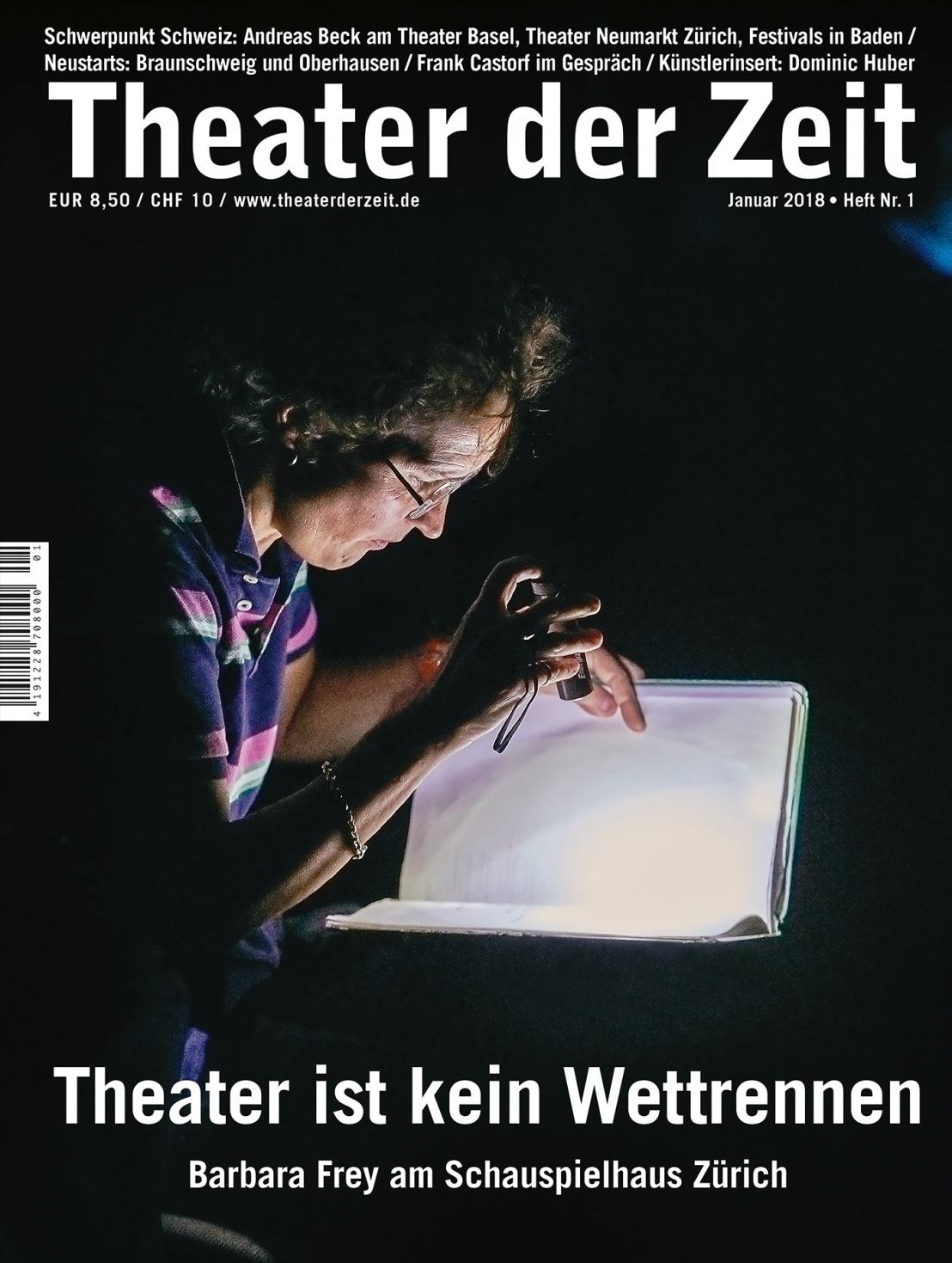Theater der Zeit 1/2018