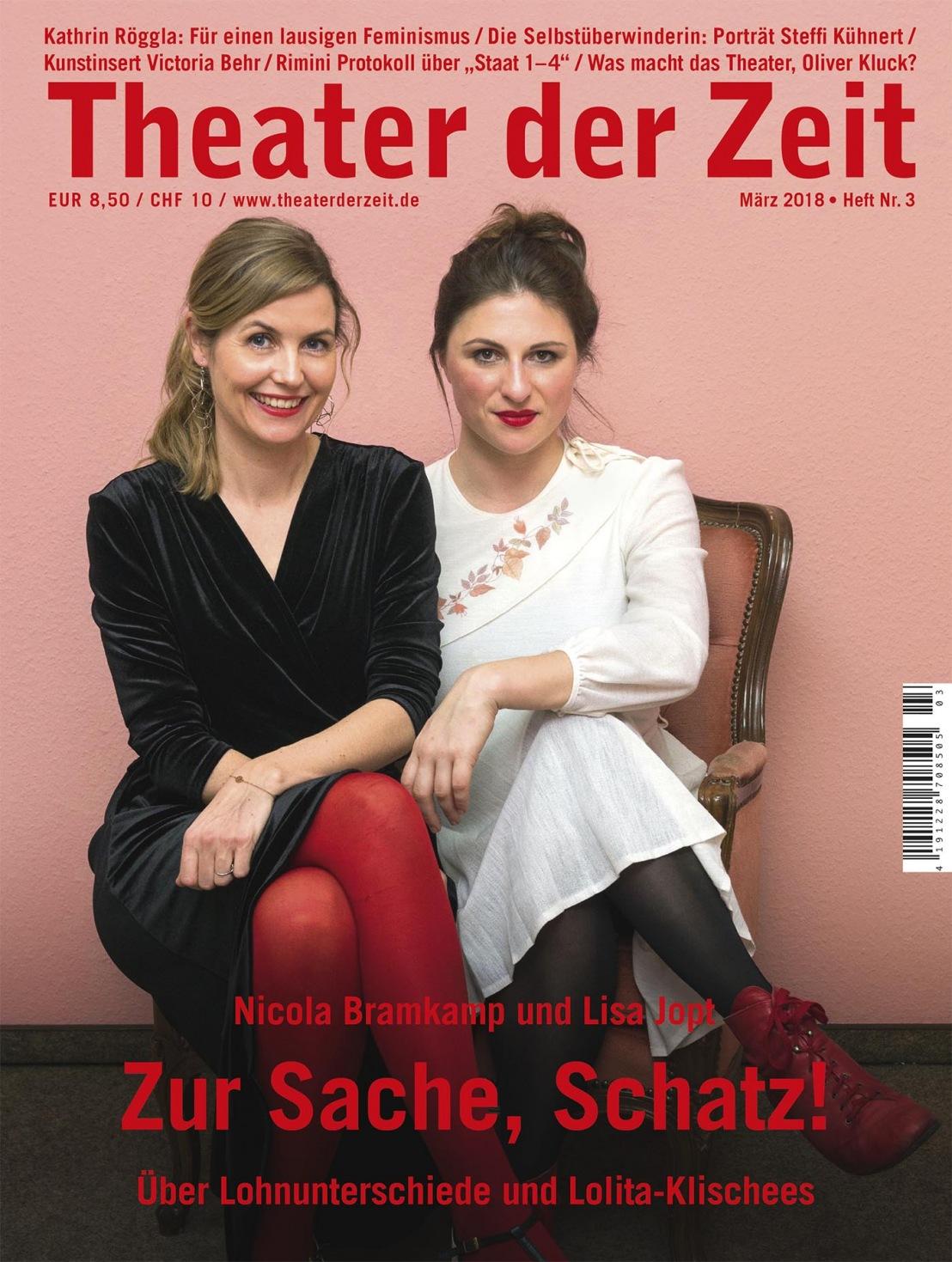 Theater der Zeit 3/2018